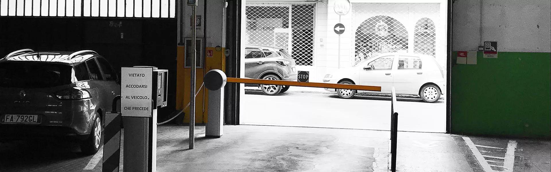 Uscita parcheggio Lingottino Pistoia | Lingottino Parcheggi S.r.l.